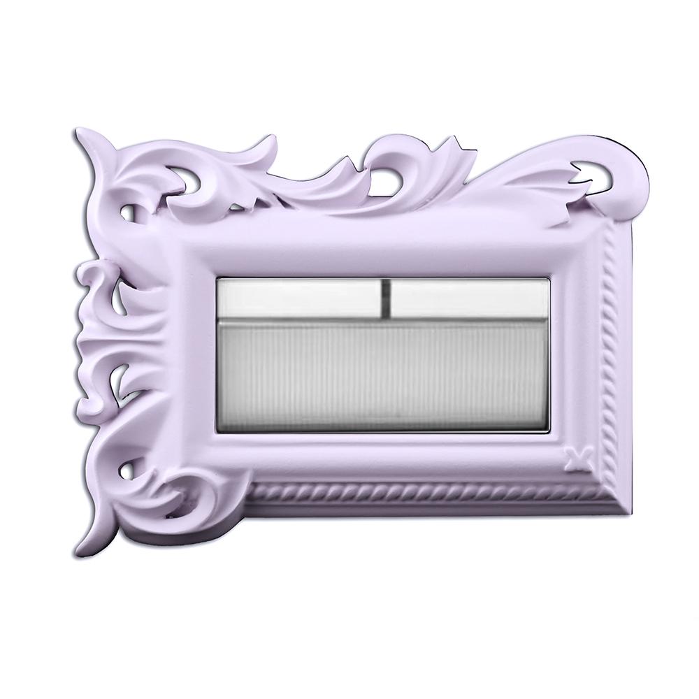 VaMarssa 拼花小開關面板 (卡準式-紫)