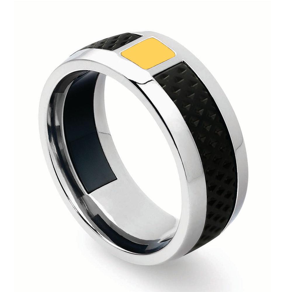 藍寶堅尼|IL PRIMO Yellow Ring戒指(美國戒圍8-12)|Tonino Lamborghini