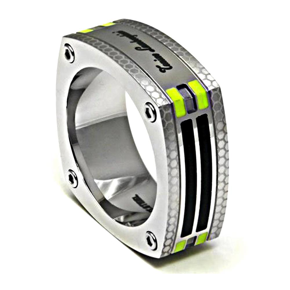 藍寶堅尼|CORSA Green Ring 戒指(美國戒圍8-12)|Tonino Lamborghini