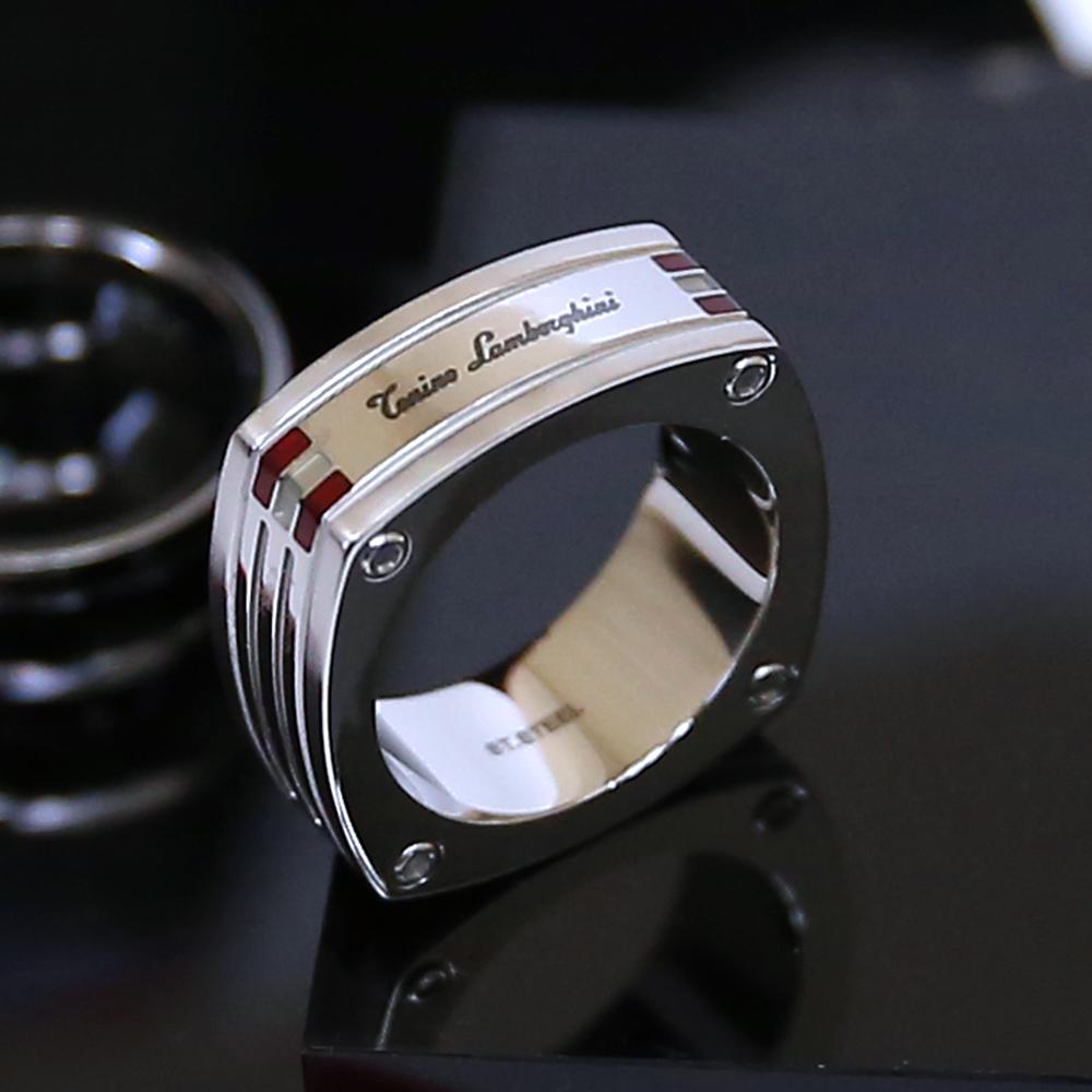 藍寶堅尼|CORSA Red Ring 戒指 (美國戒圍8-12) Tonino Lamborghini