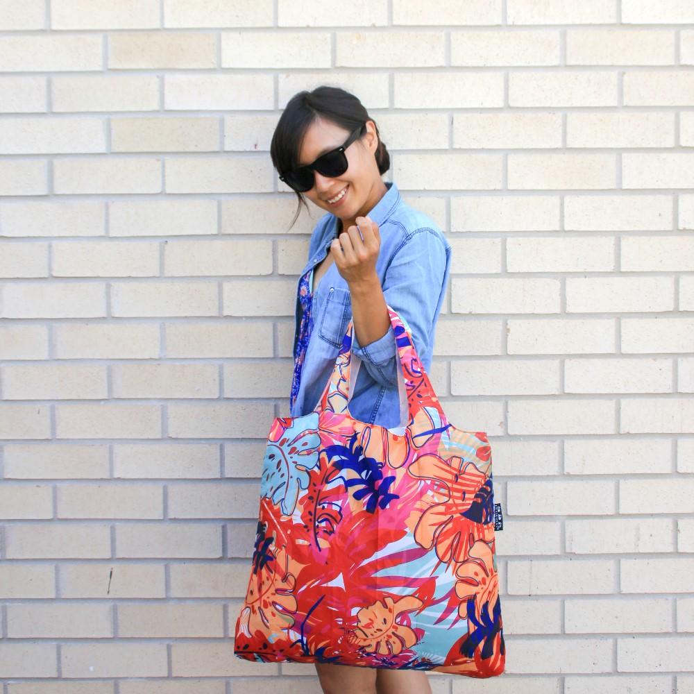ENVIROSAX|澳洲環保購物袋 Tropics 熱帶─花彩