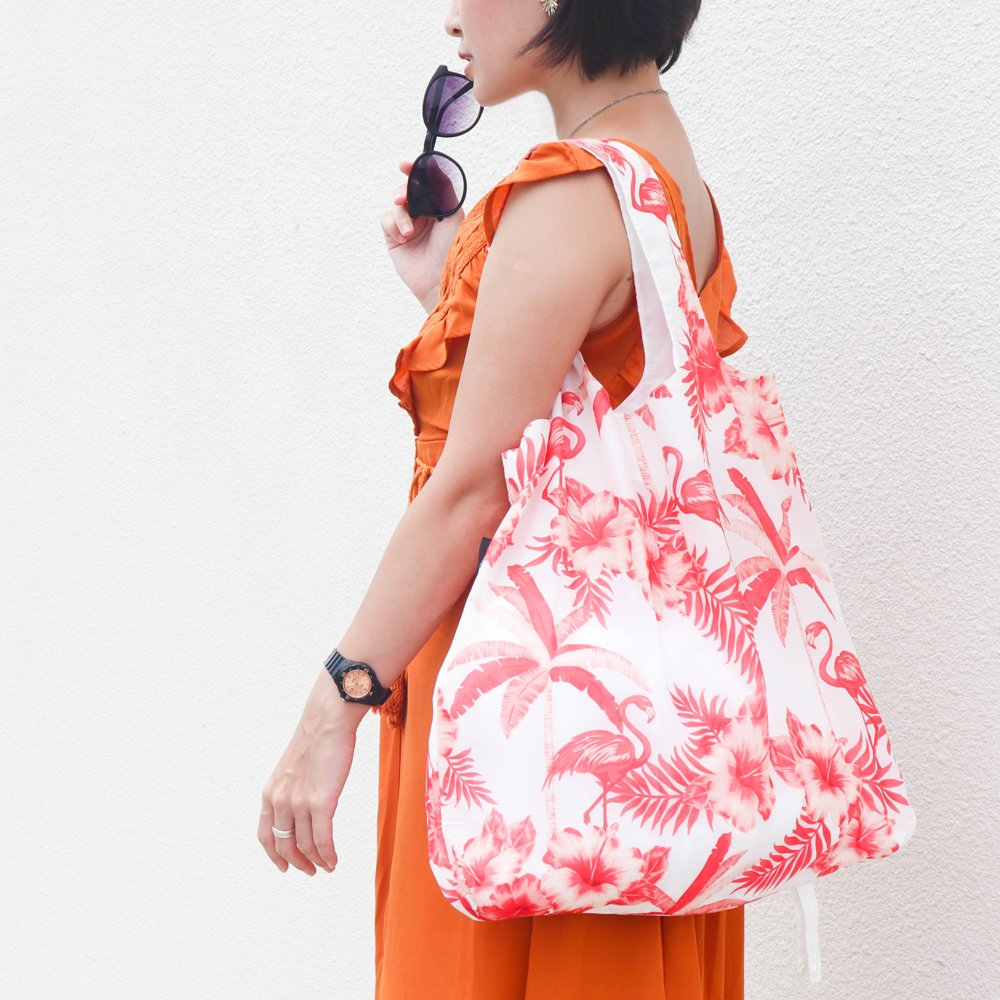 ENVIROSAX|澳洲環保購物袋 Tropics 熱帶─紅鶴