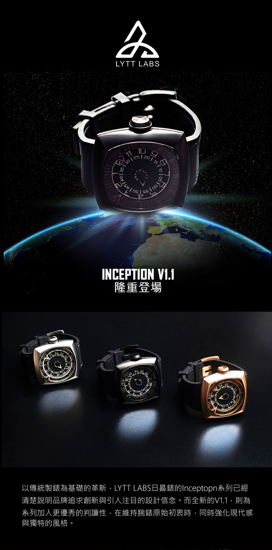 LYTT LABS | Inception V1.1 -Gunmetal – A02-04*