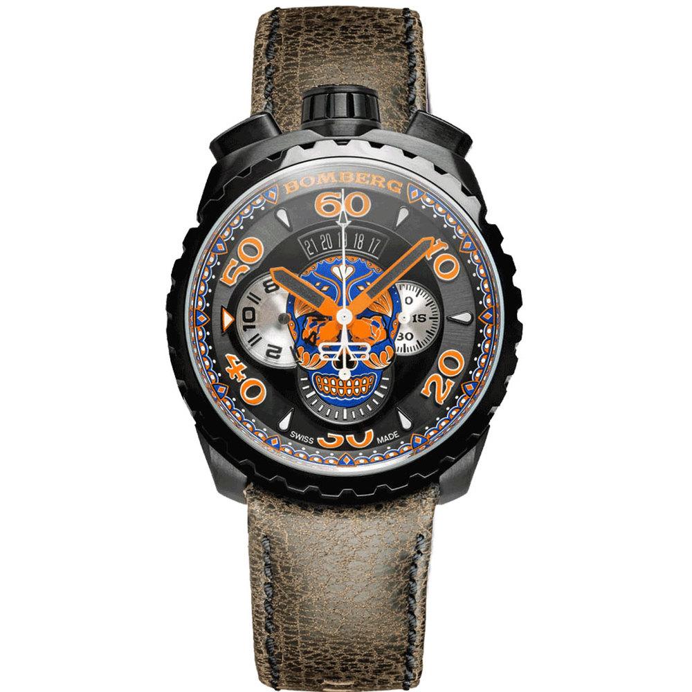 BOMBERG | BOLT-68 藍骷髏計時碼錶