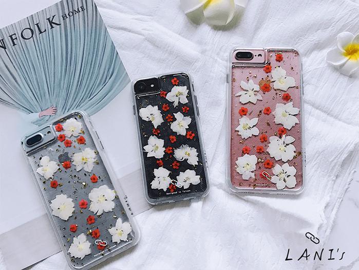 (複製)LANI's Apple iPhone 手機殼-大理石紋貝殼