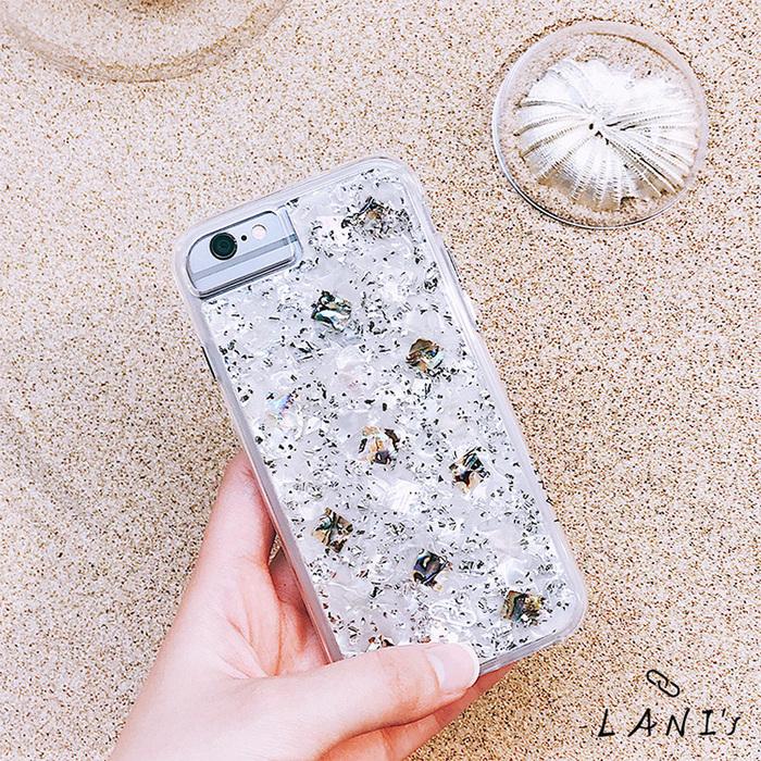 (複製)LANI's|Apple iPhone 手機殼-金箔粉色飛燕花