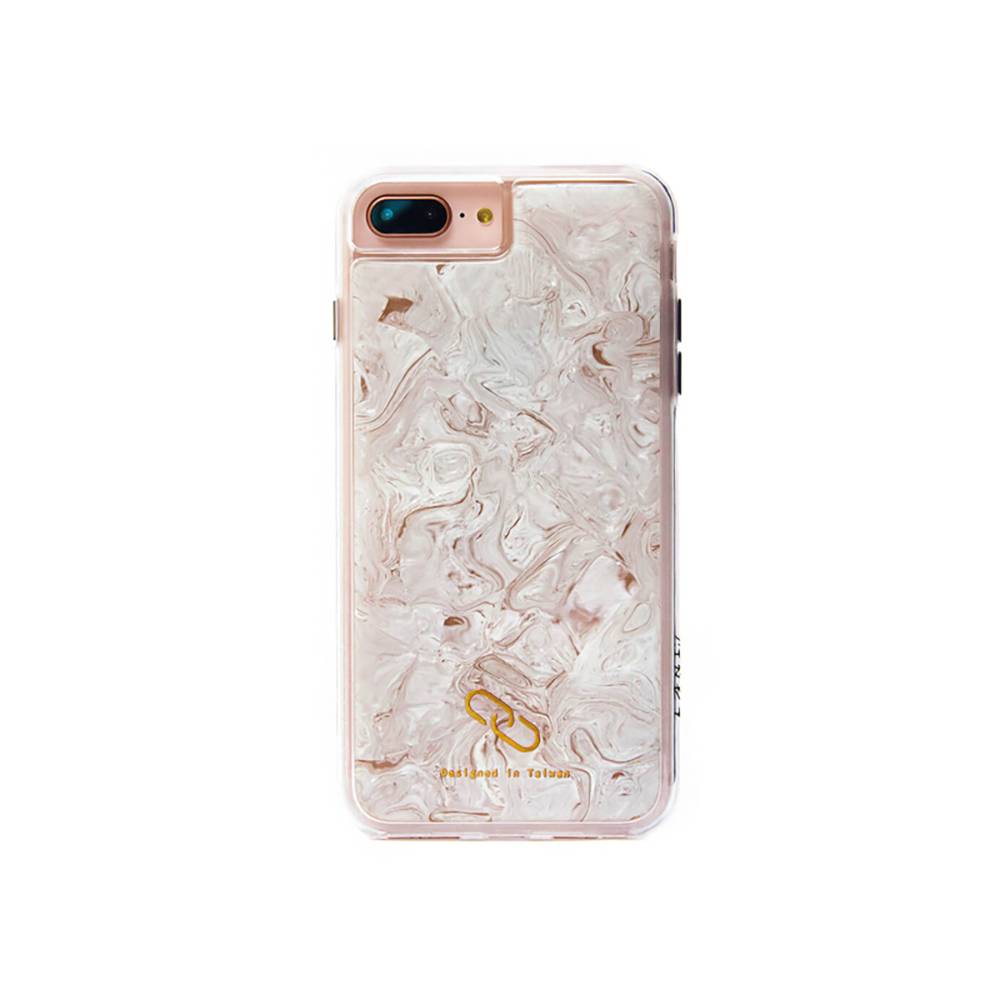 LANI's|Apple iPhone 手機殼-大理石紋貝殼