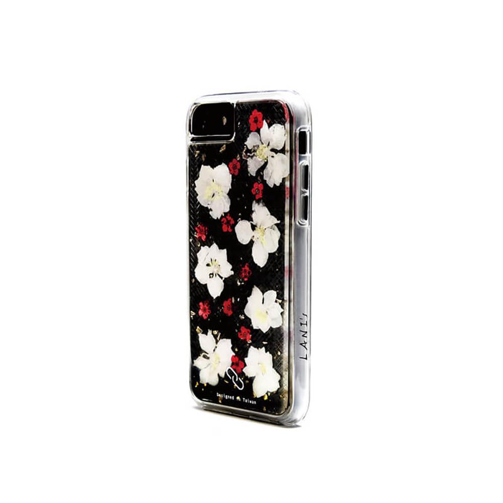 LANI's Apple iPhone 手機殼-白花小紅莓