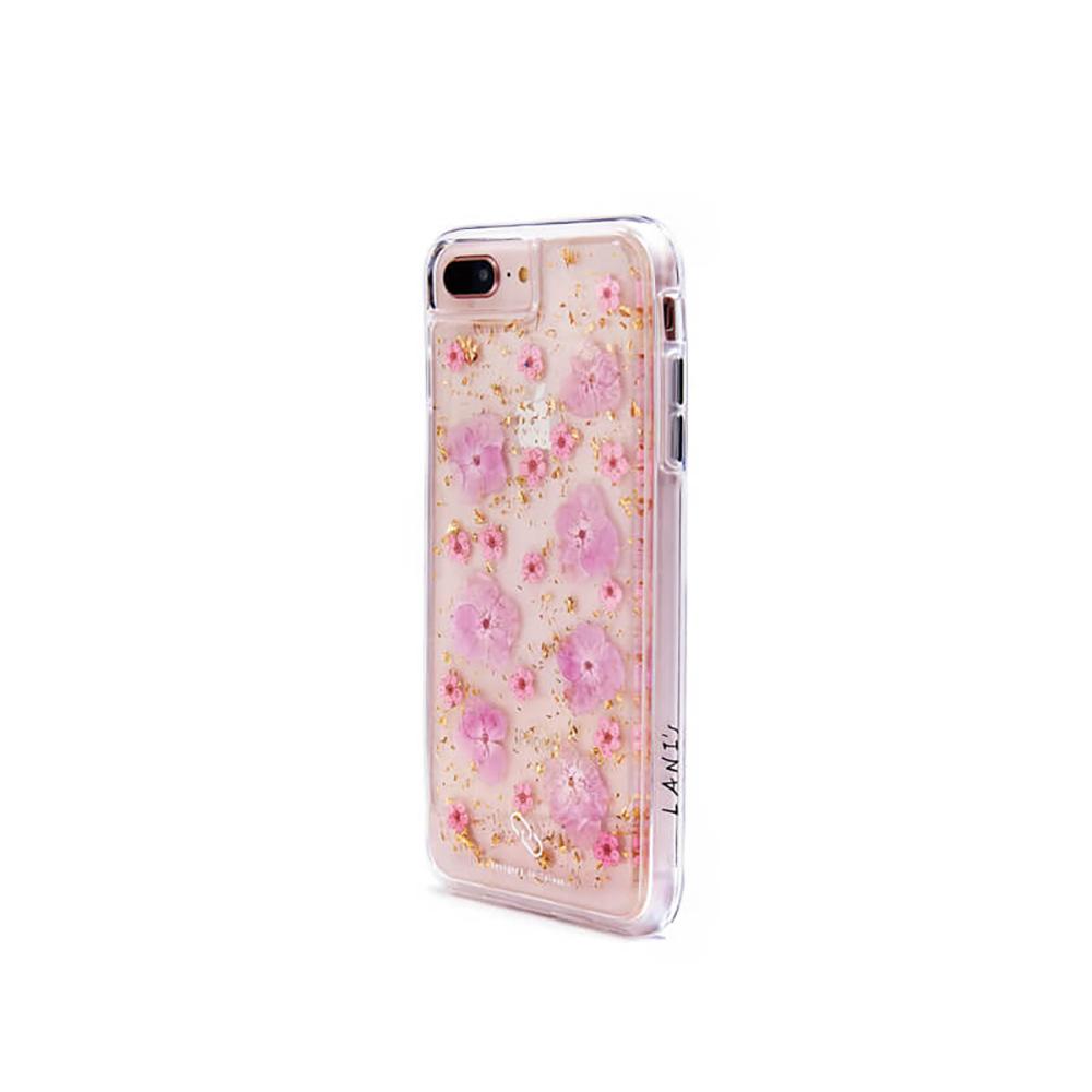LANI's|Apple iPhone 手機殼-粉色繡球花