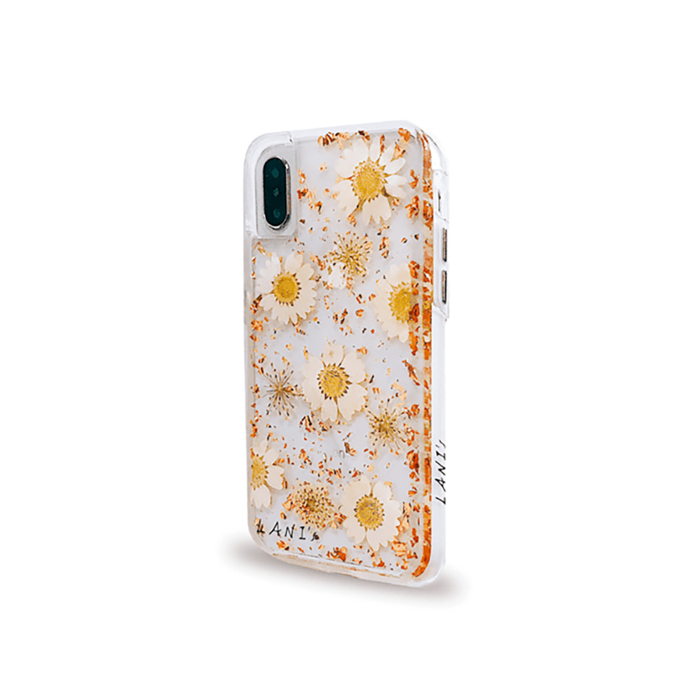 LANI's|Apple iPhone 手機殼-金箔小菊花