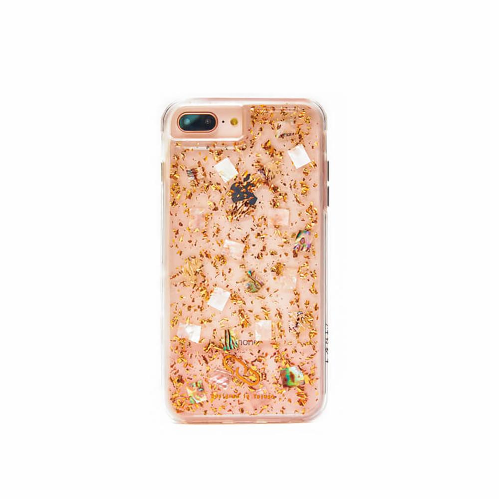 LANI's Apple iPhone 手機殼-玫瑰金貝殼
