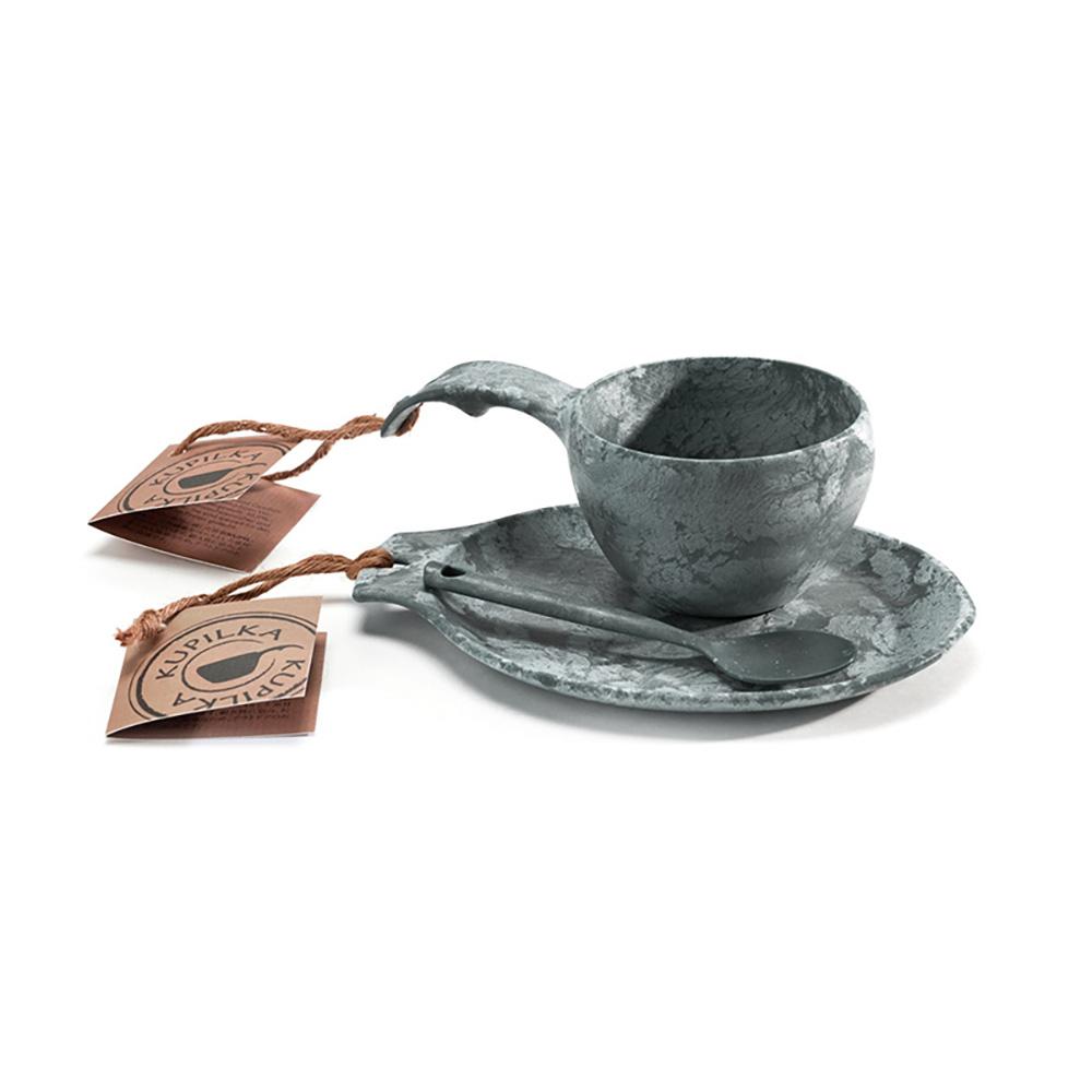 KUPILKA|松木餐具禮盒組(碗、盤、匙)