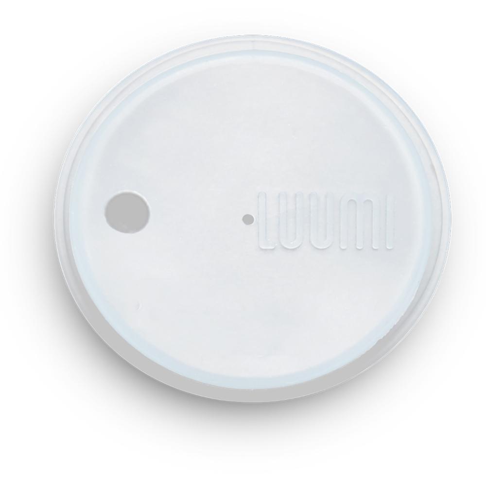 LUUMI|Bubble Tea Lid  珍珠奶茶密封蓋(含吸管) 透明