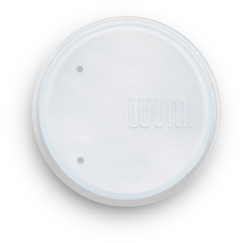 LUUMI|Lid and Straw 密封蓋吸管組 透明