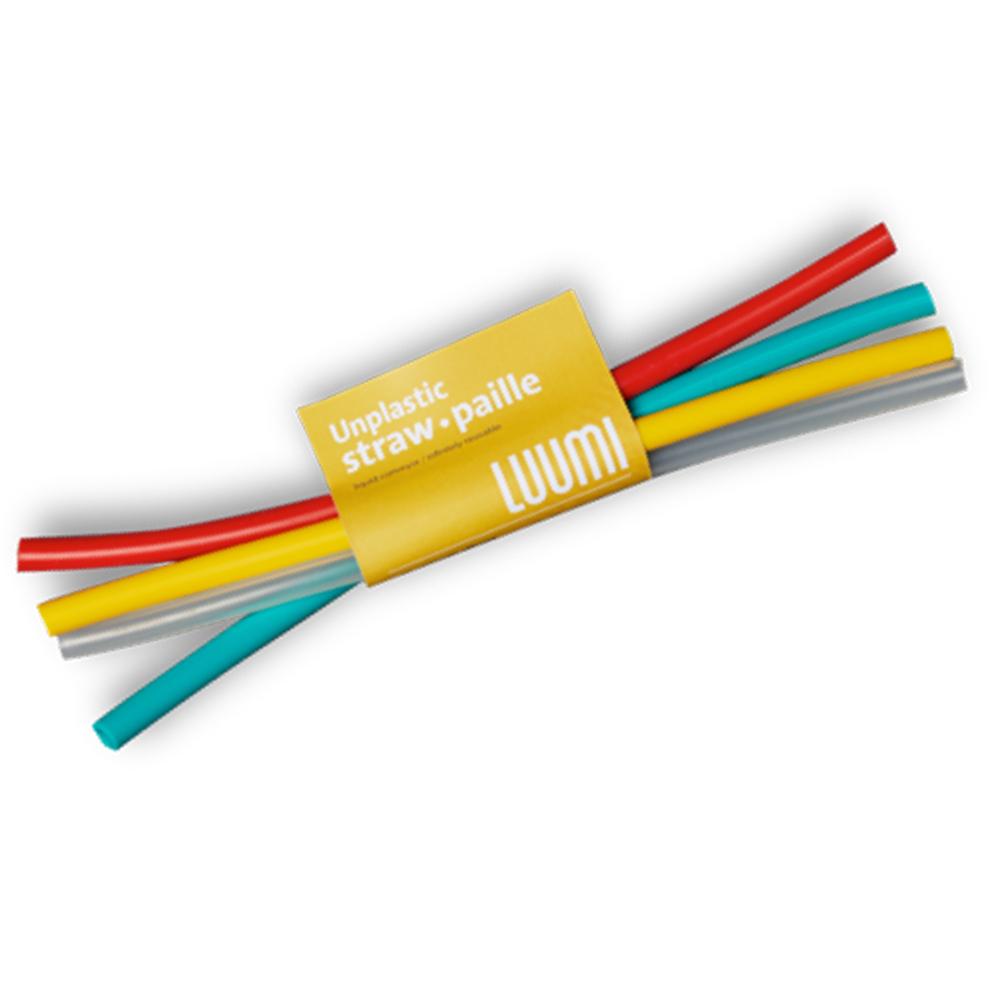 LUUMI|Straws  矽膠吸管組