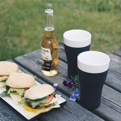 芬蘭Magisso|啤酒專用杯雙入組