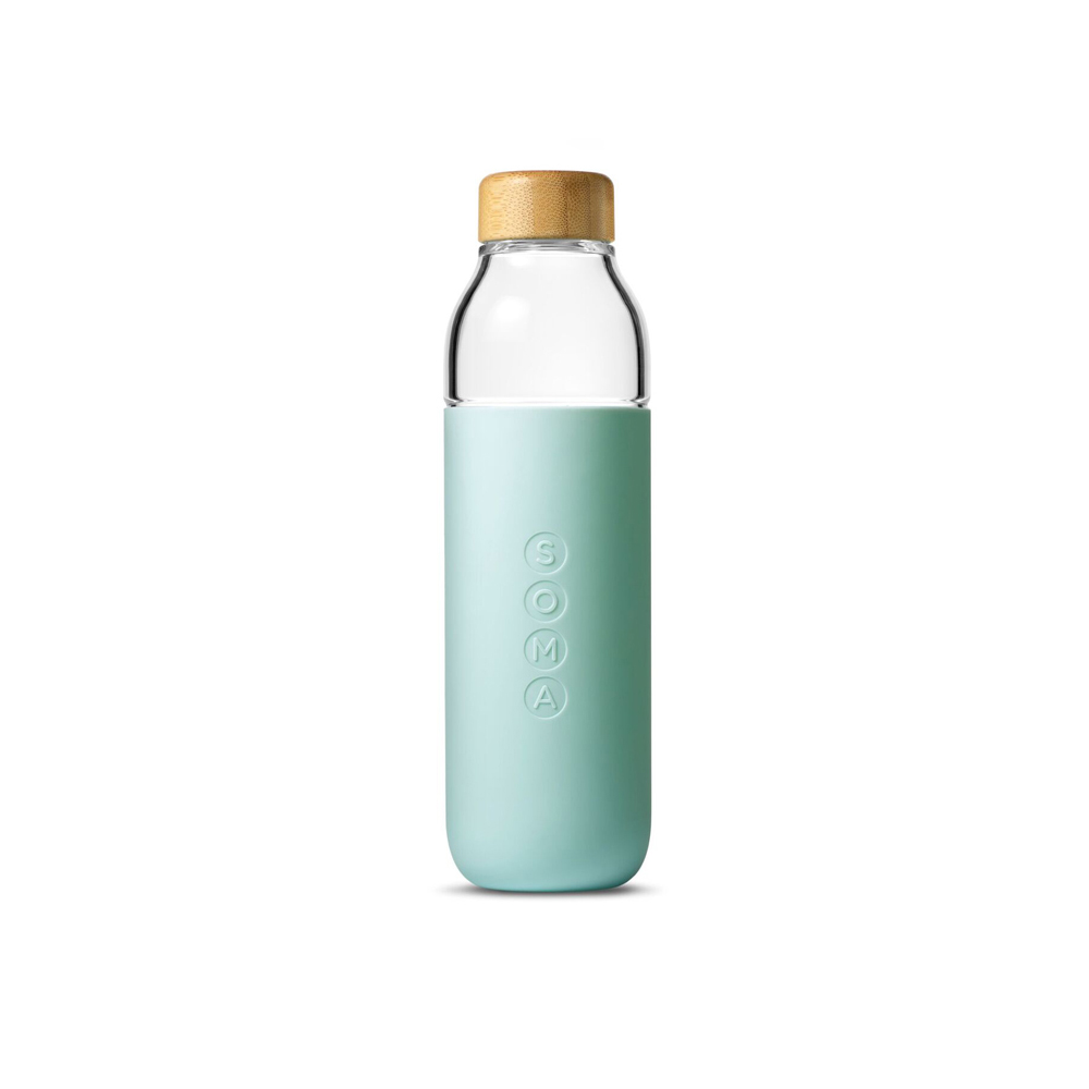 美國SOMA|玻璃水瓶-時尚白