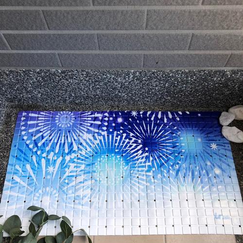 Urtale|花火慶典浴室防滑墊