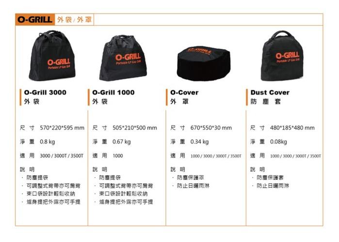O-Grill|O-Carry 提袋