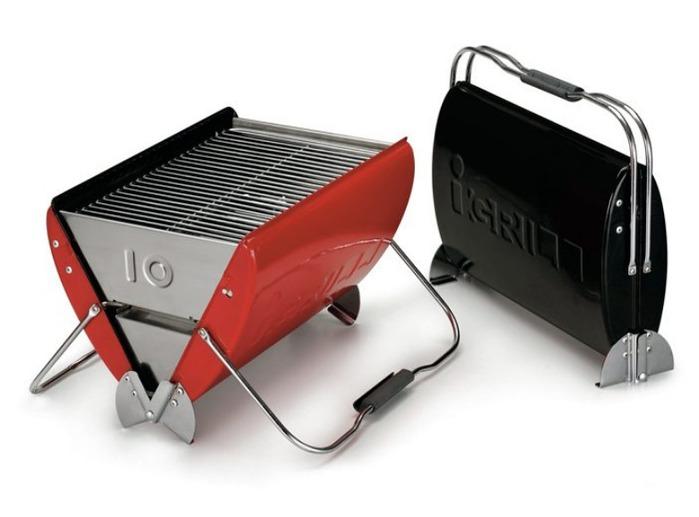 O-Grill|I-Grill 10 美式時尚可攜式煤炭烤肉爐