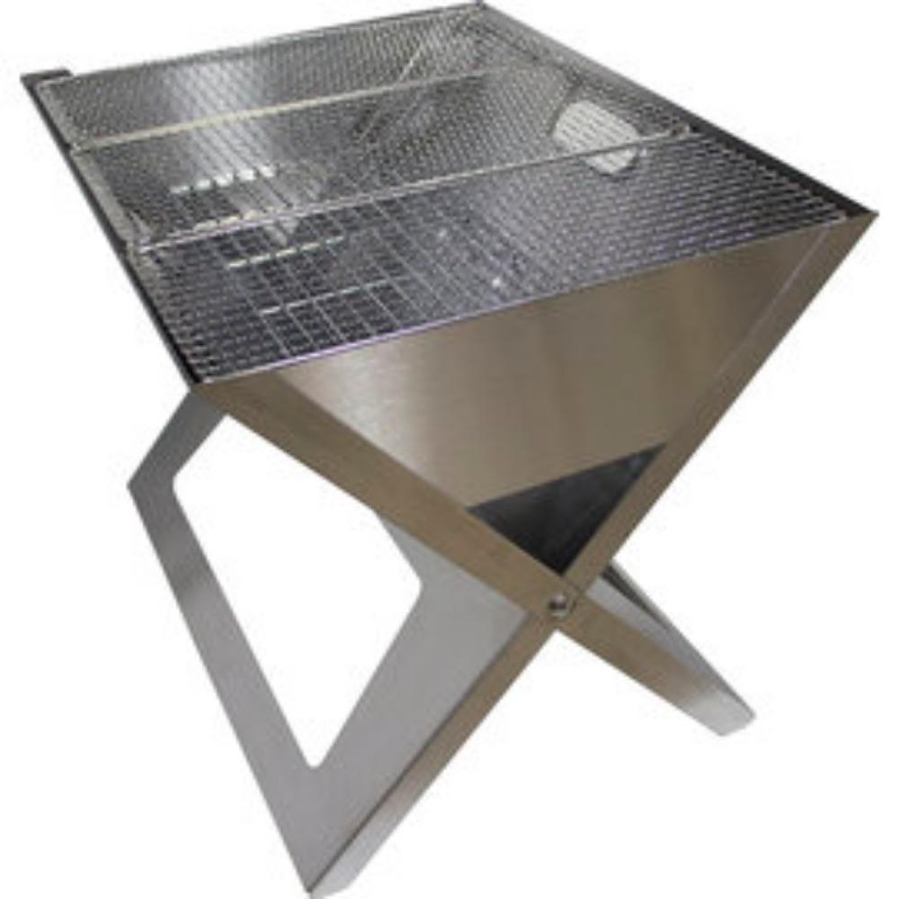 O-Grill|Notebook SS 可攜式煤炭烤肉爐
