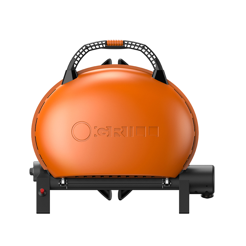 O-Grill| 500M 美式時尚可攜式瓦斯烤肉爐(熱情橘)
