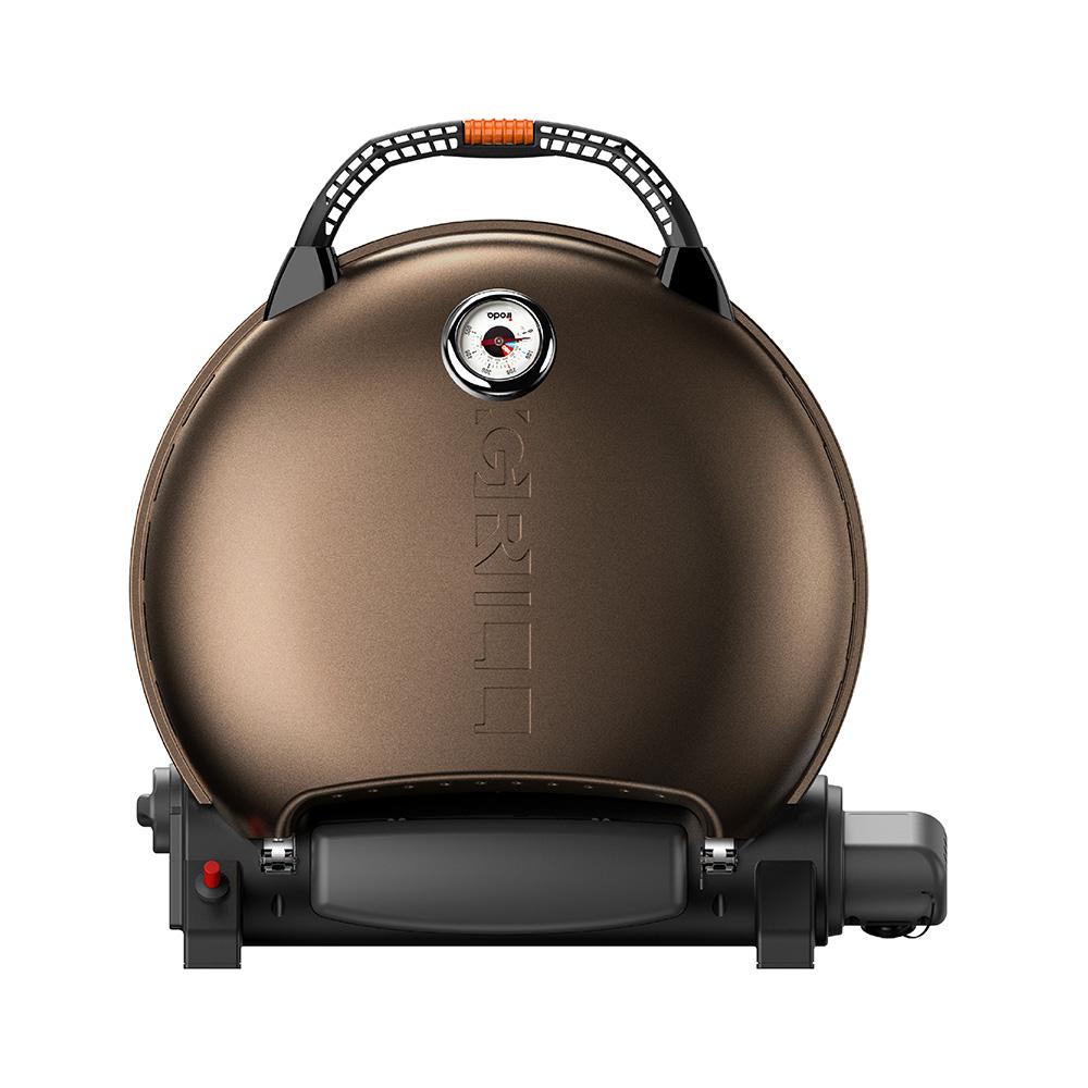 O-Grill| 700T 美式時尚可攜式瓦斯烤肉爐(香檳金)
