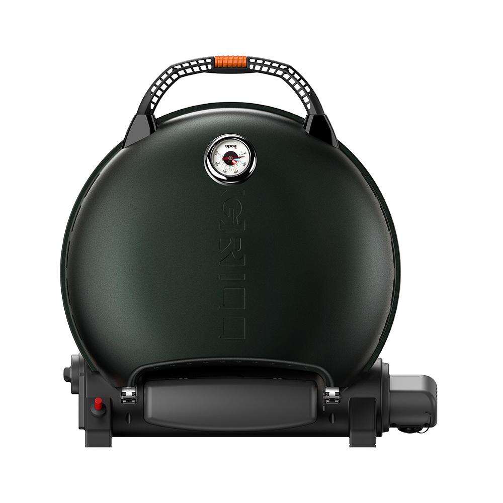 O-Grill| 700T 美式時尚可攜式瓦斯烤肉爐(大地綠)