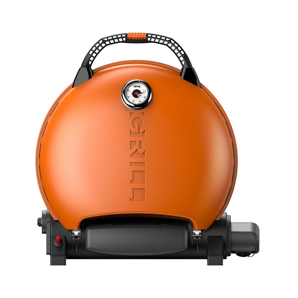 O-Grill| 700T 美式時尚可攜式瓦斯烤肉爐(熱情橘)