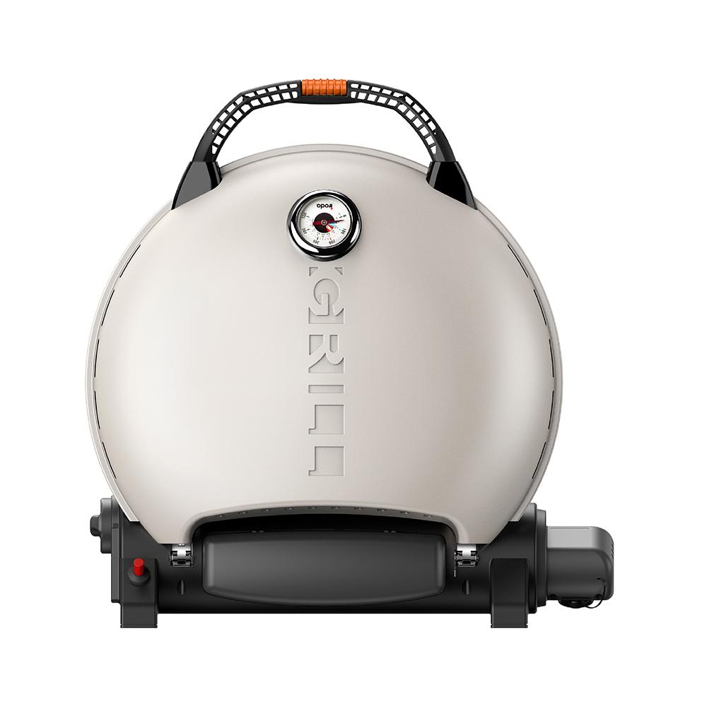 O-Grill| 700T 美式時尚可攜式瓦斯烤肉爐(奶油白)