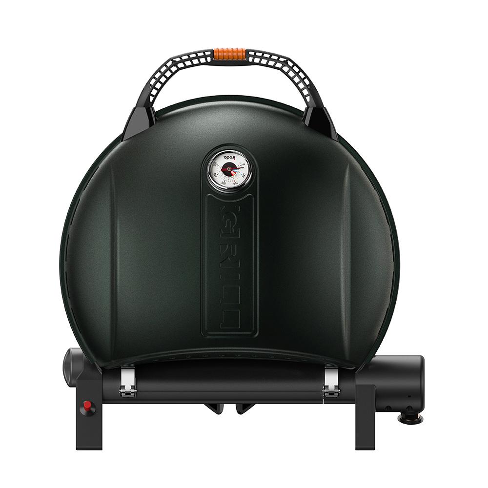 O-Grill| 900MT 美式時尚可攜式瓦斯烤肉爐(大地綠)