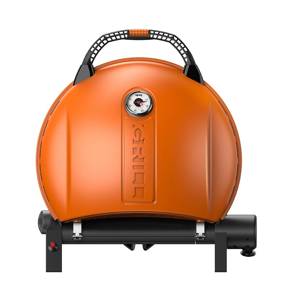O-Grill| 900MT 美式時尚可攜式瓦斯烤肉爐(熱情橘)