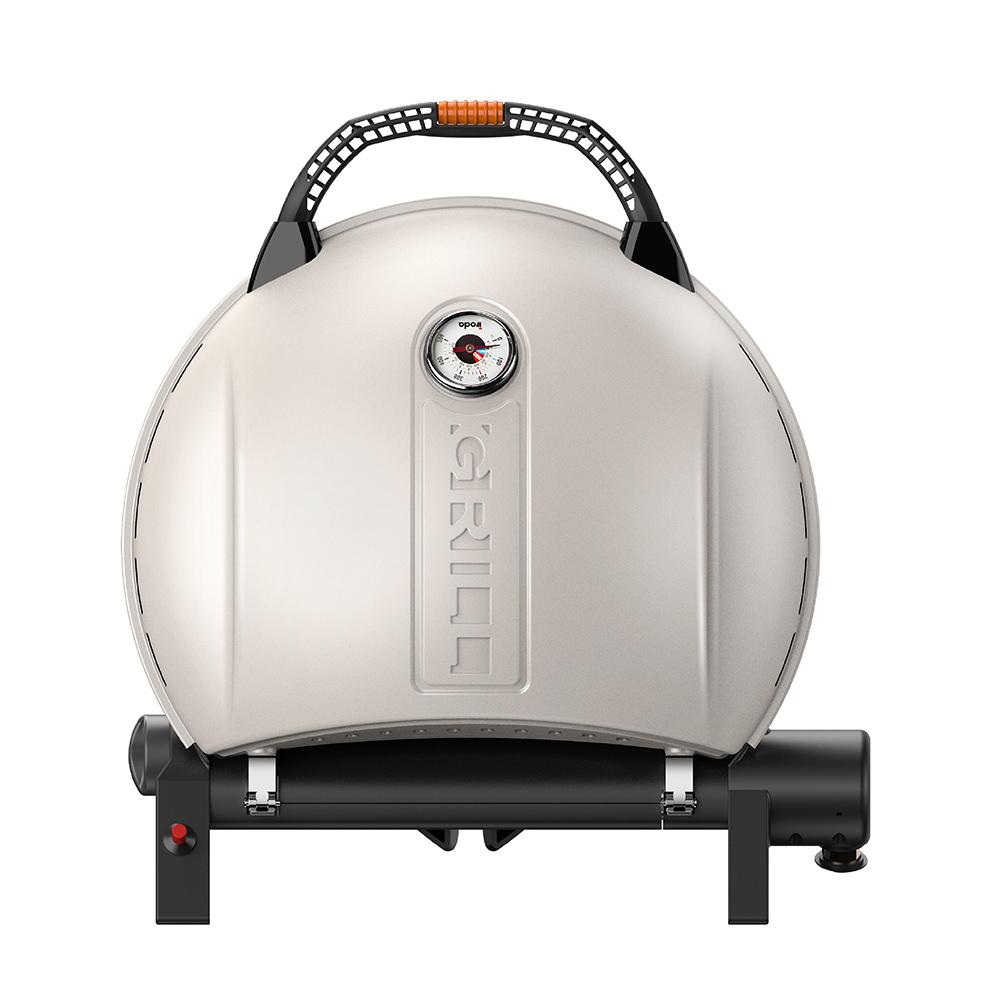 O-Grill| 900MT 美式時尚可攜式瓦斯烤肉爐(奶油白)