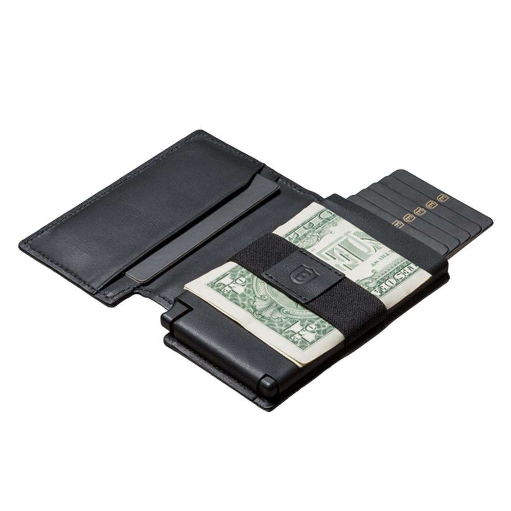 Ekster 荷蘭x紐約設計品牌 經典真皮RFID防盜皮夾-黑色