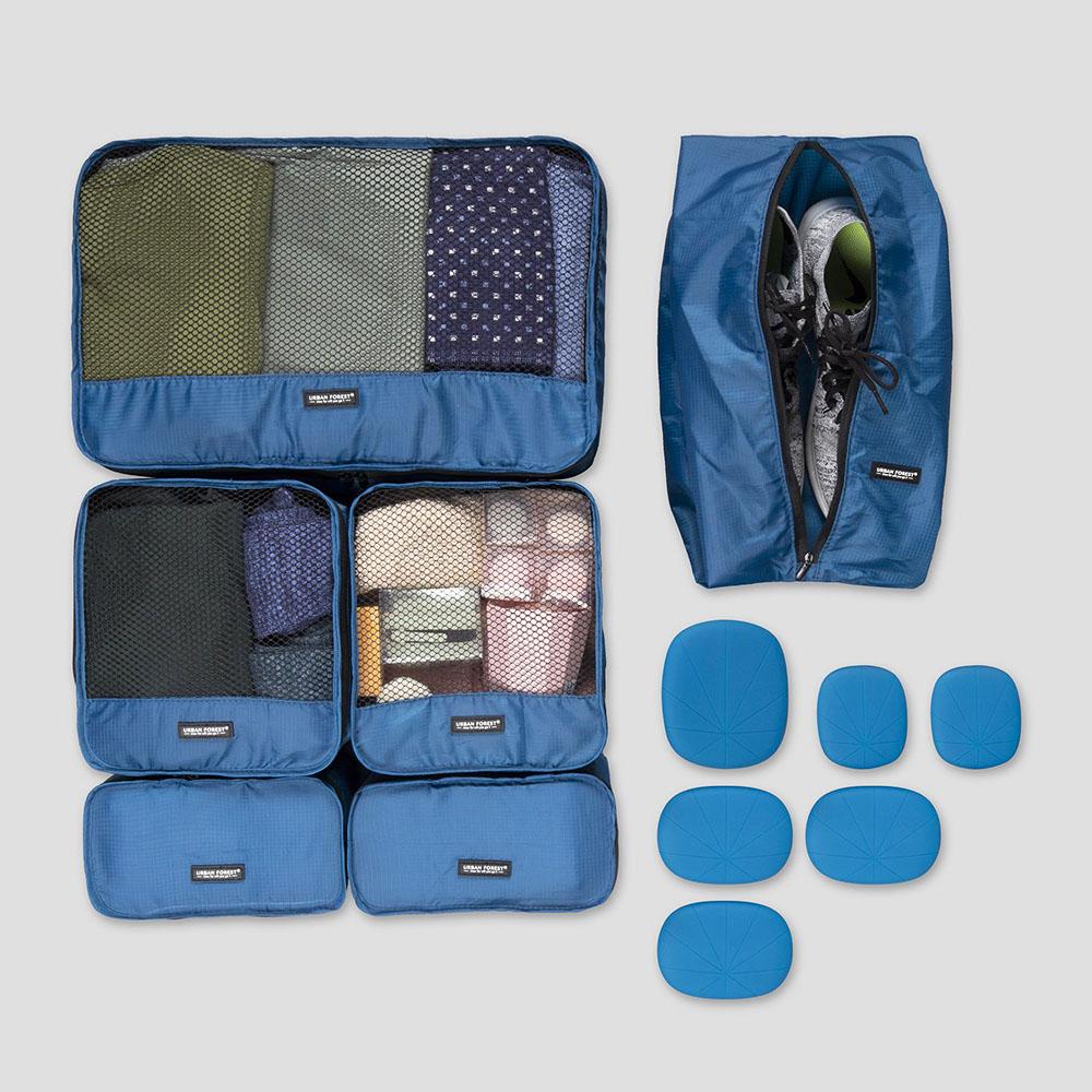 URBAN FOREST|都市之森 樹-旅行收納袋6件組 (基本色)