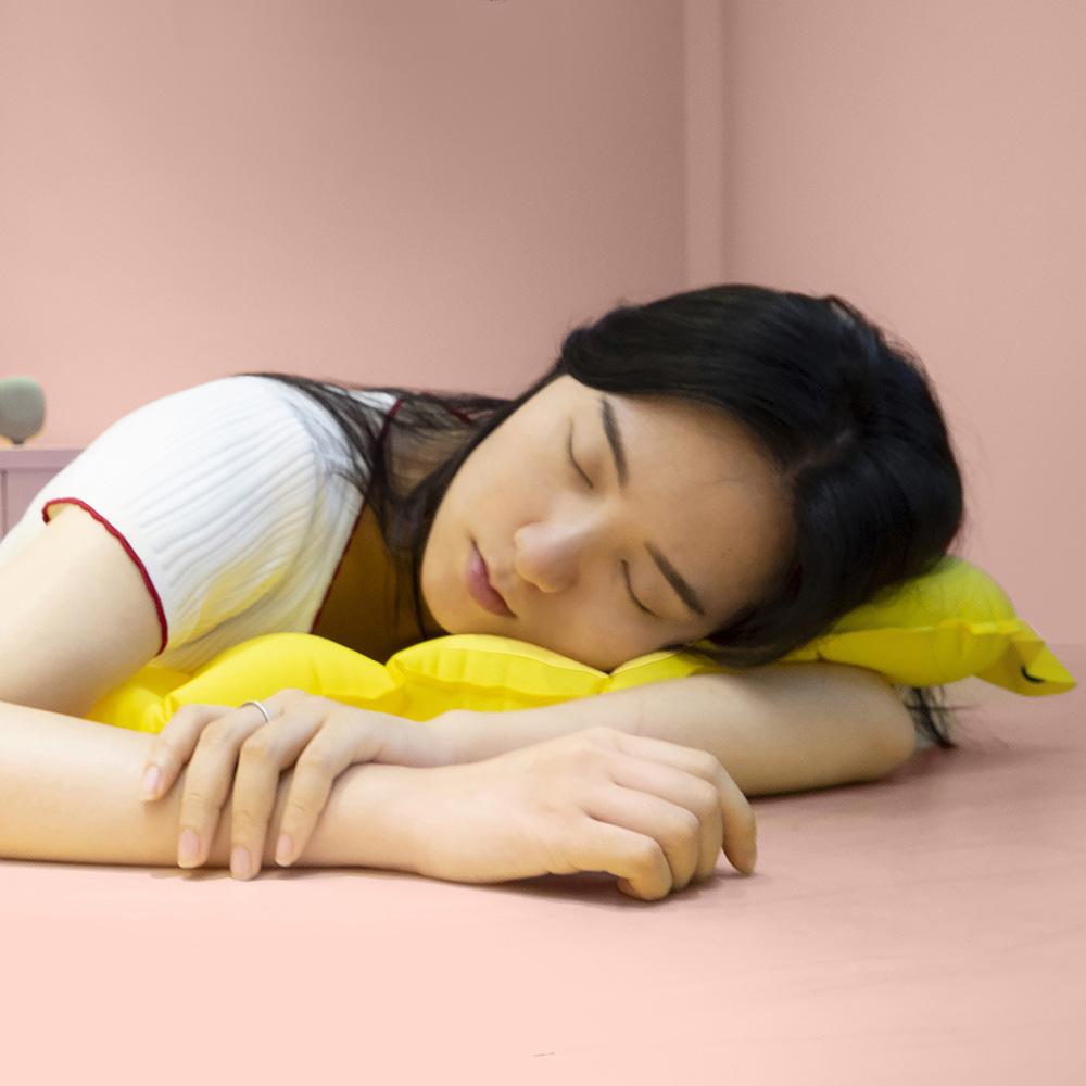 URBAN FOREST|都市之森 樹-口袋充氣頸枕/午睡枕