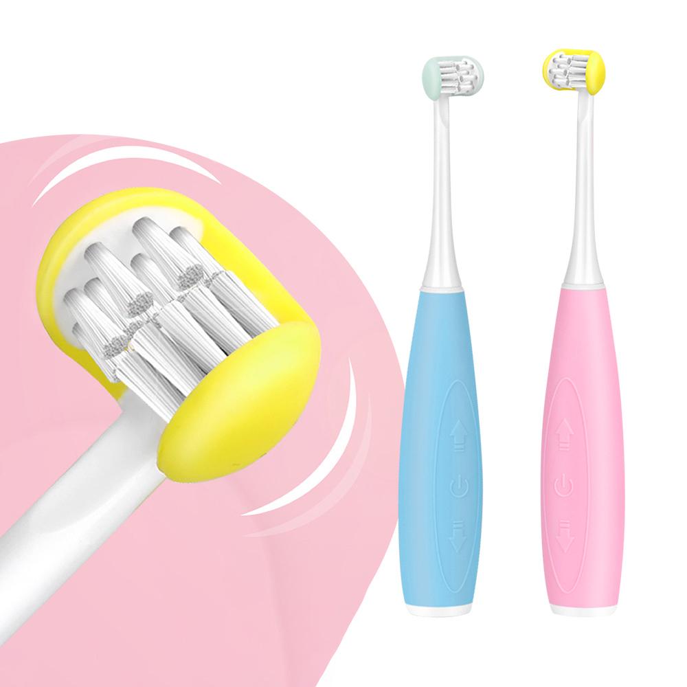 meekee|U型全包覆刷頭-3D兒童電動牙刷