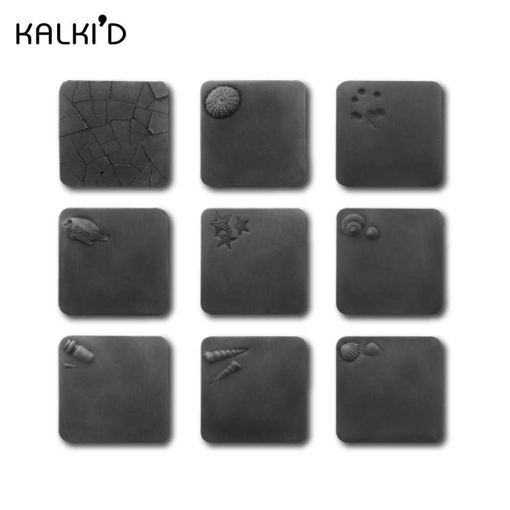 KALKI'D|親水泥‧神奇吸水杯墊 沉穩黑