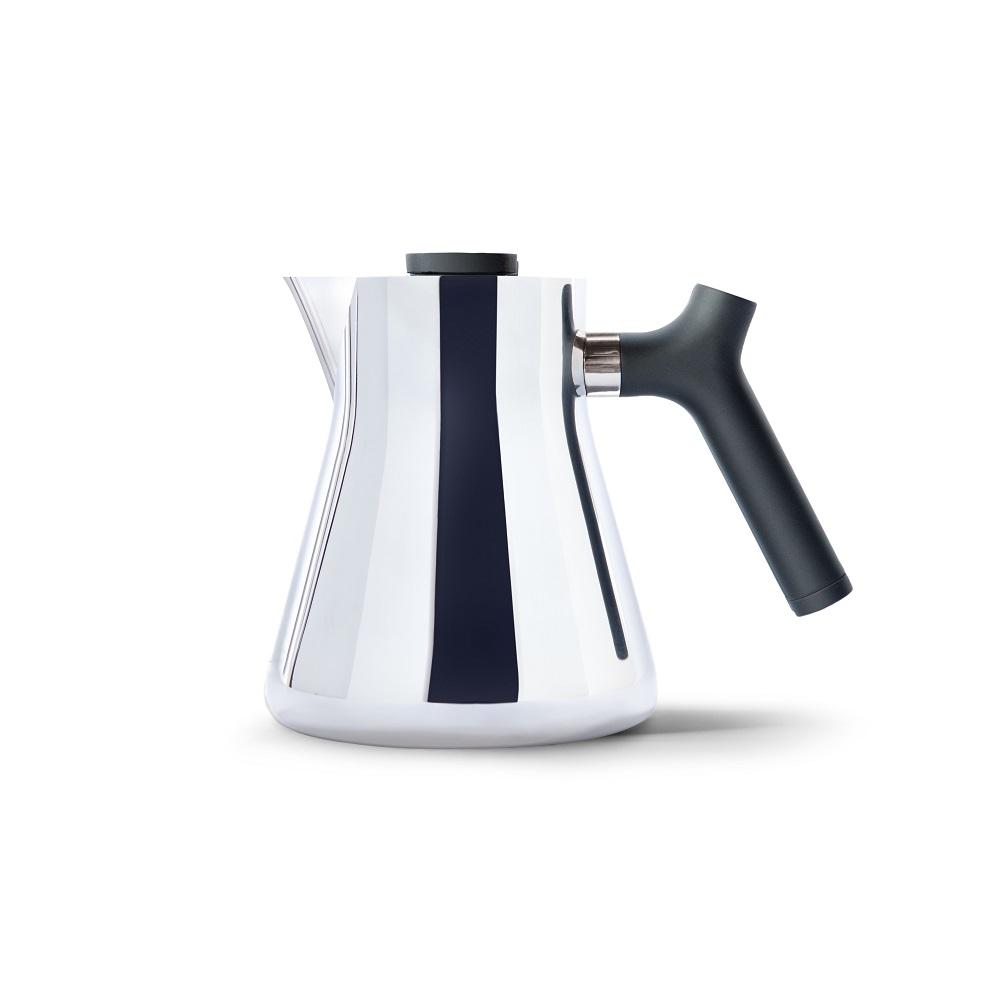 FELLOW|RAVEN不鏽鋼測溫沖茶壺(鏡面)