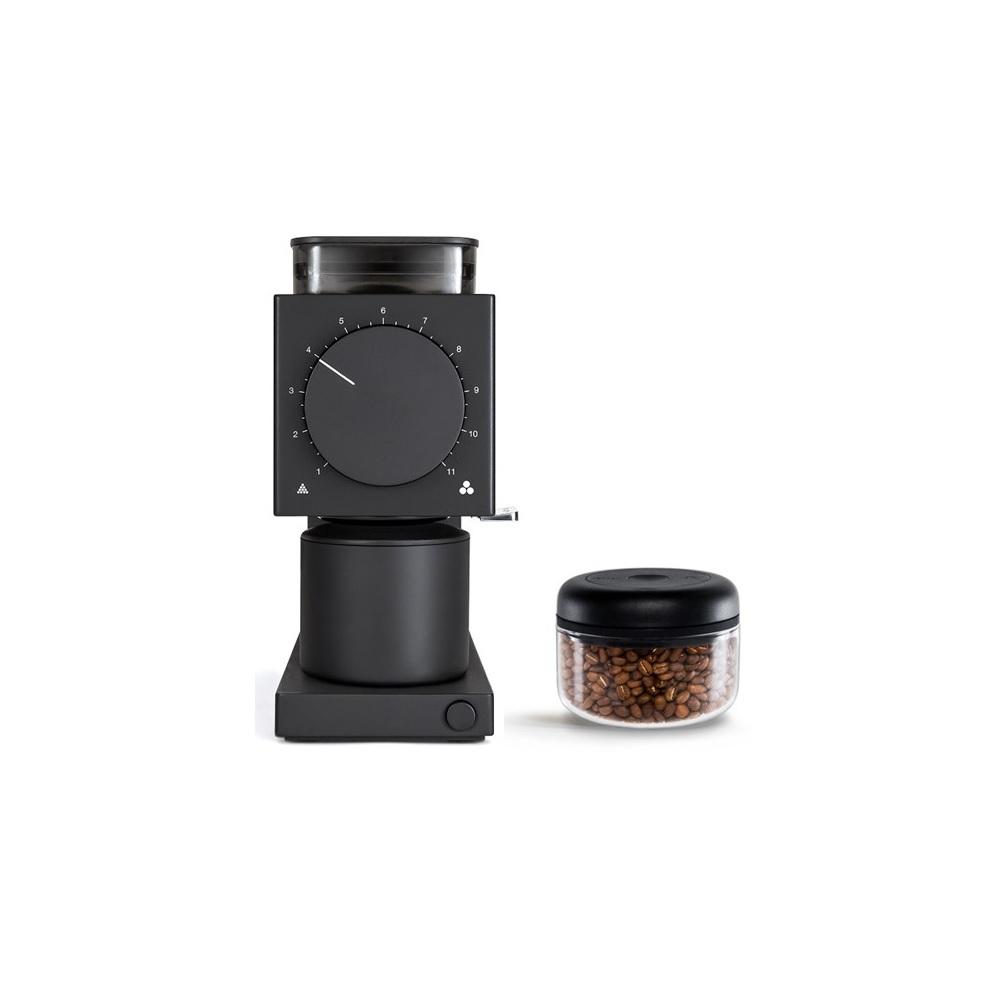FELLOW|ODE 精準磨豆機+ATMOS真空密封罐(0.4L/玻璃)