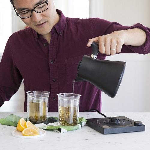 FELLOW|Corvo EKG 電子溫控沖茶壺(900ml/啞光黑)