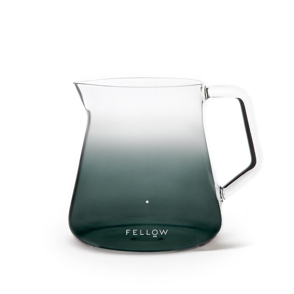 FELLOW|Mighty Small 玻璃分享濾壺(寂淨黑/2色)