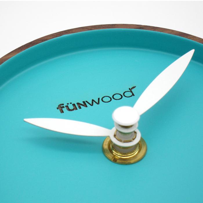 fünwood|Macaron Clock 馬卡龍桌鐘
