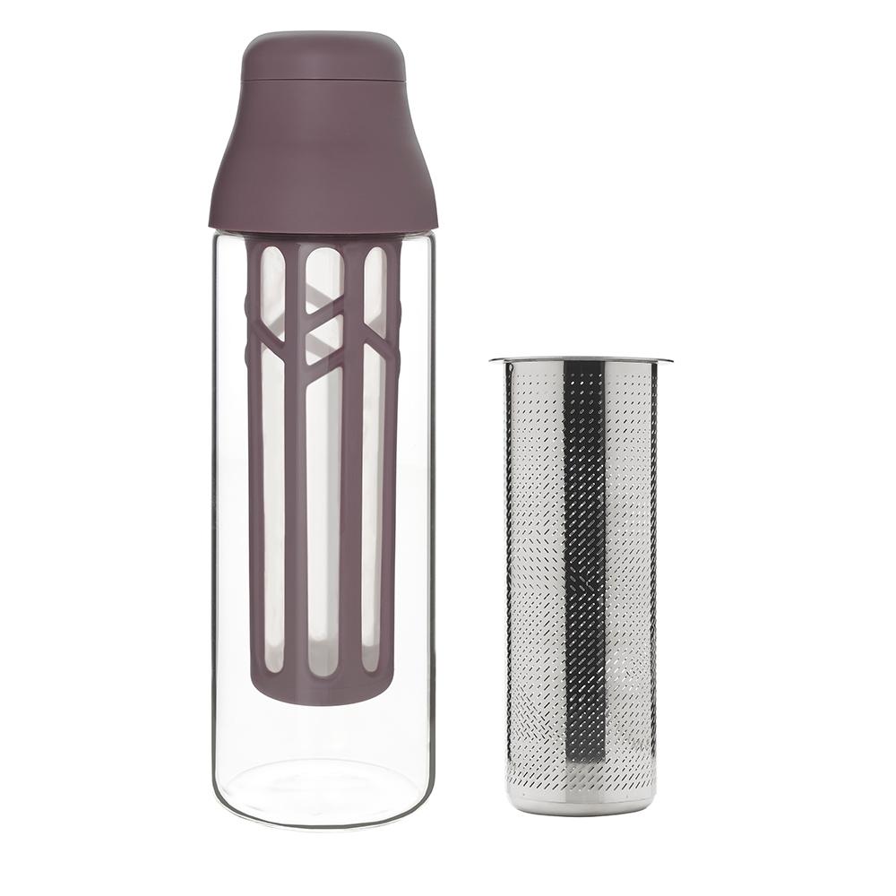 TOAST|冷萃咖啡瓶附茶濾器 紫色 - 1000ml