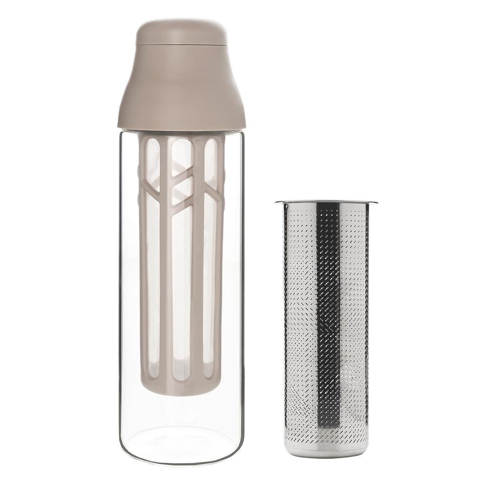 TOAST|冷萃咖啡瓶附茶濾器 灰色 - 1000ml