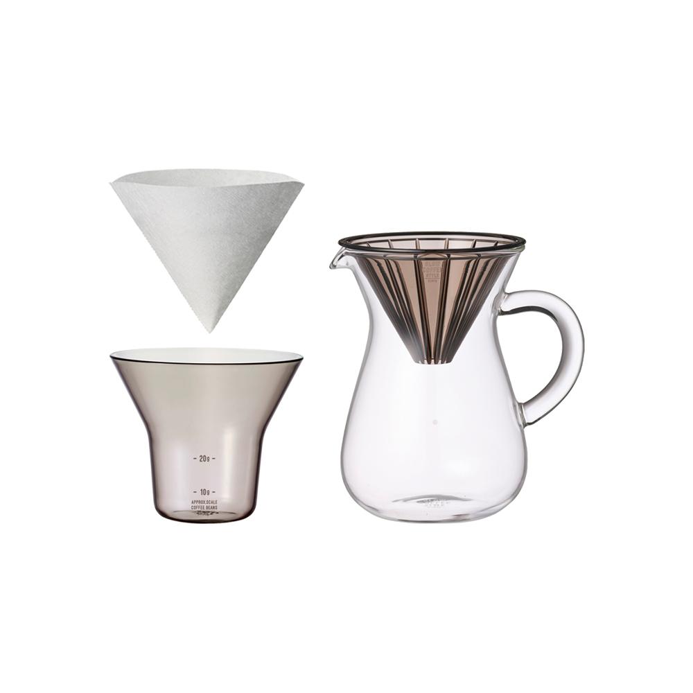 KINTO|SCS手沖咖啡壺組300ml-濾紙型