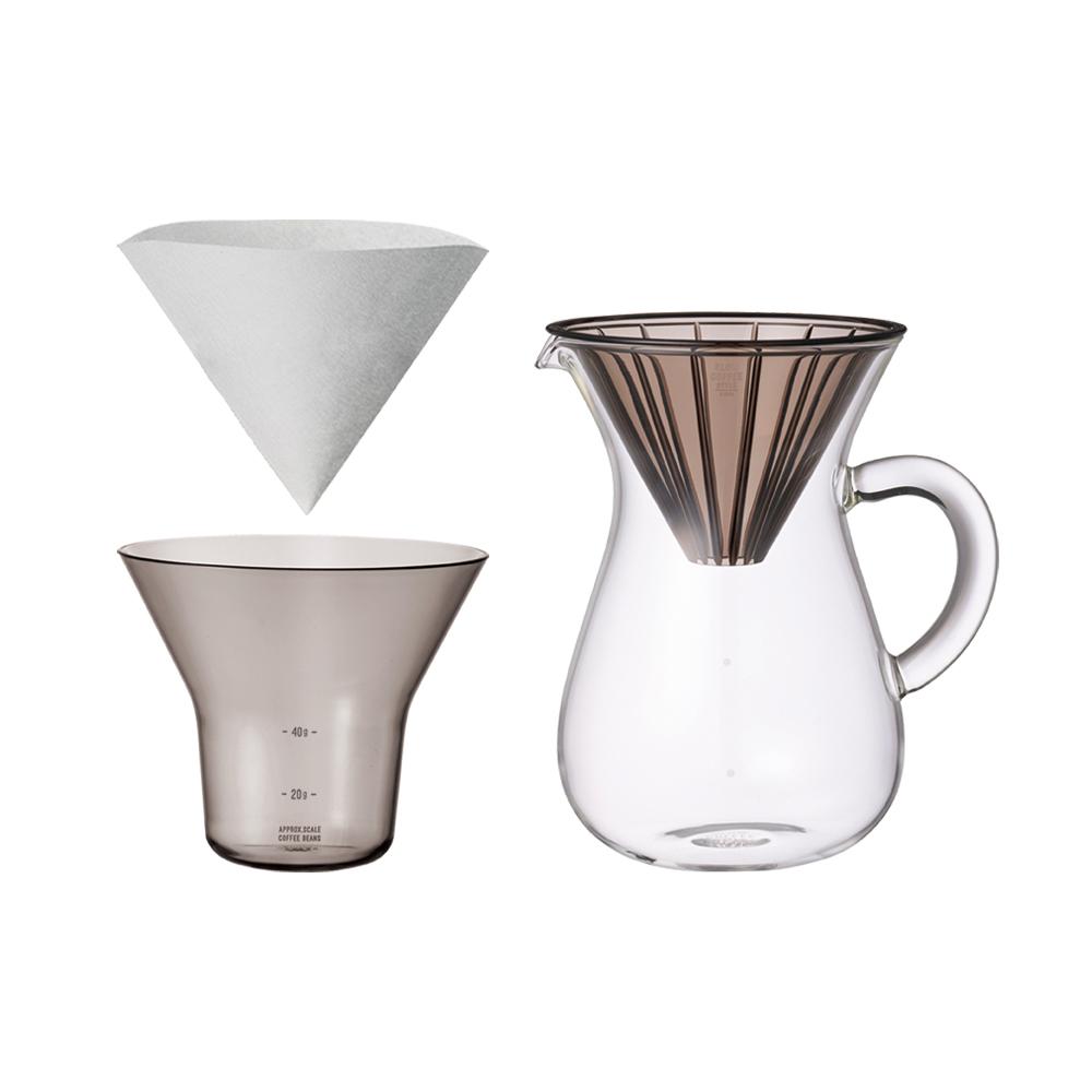 KINTO|SCS手沖咖啡壺組600ml-濾紙型