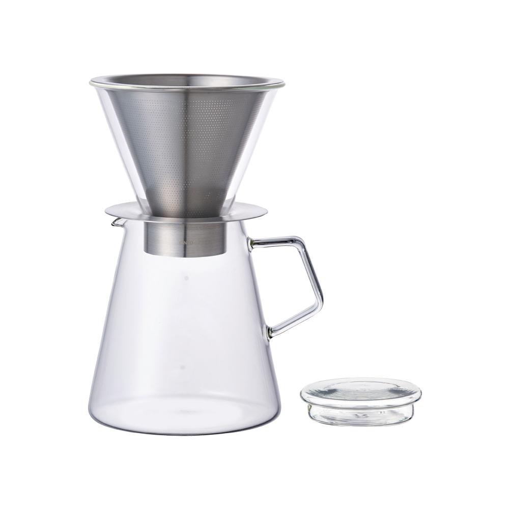 KINTO Carat咖啡沖泡壺組720ml