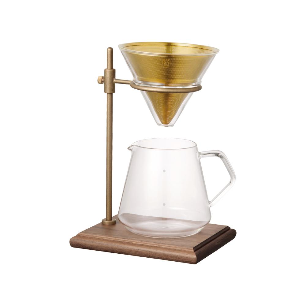 KINTO SCS經典黃銅手沖咖啡四件組