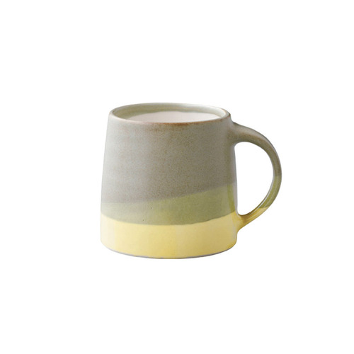 KINTO|SCS漸層馬克杯320ml黃/綠色